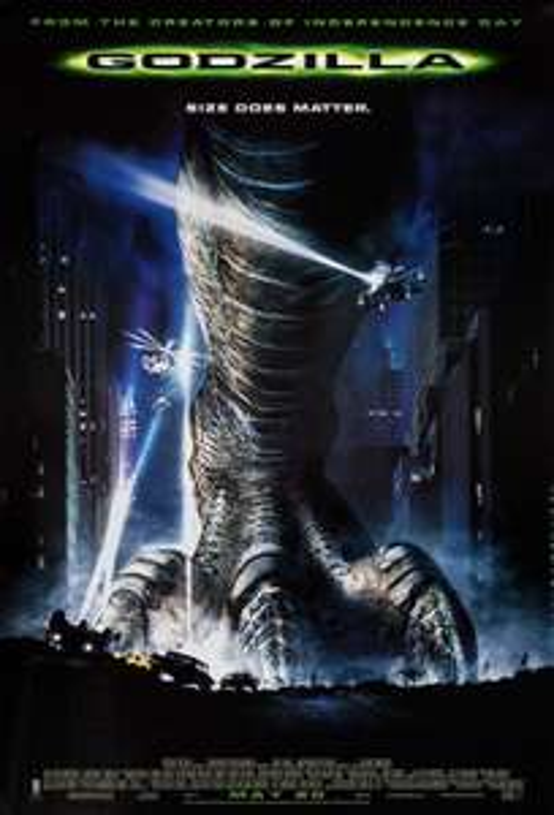 [iTunes] Godzilla (1998) 4K Dolby Vision Dolby Atmos