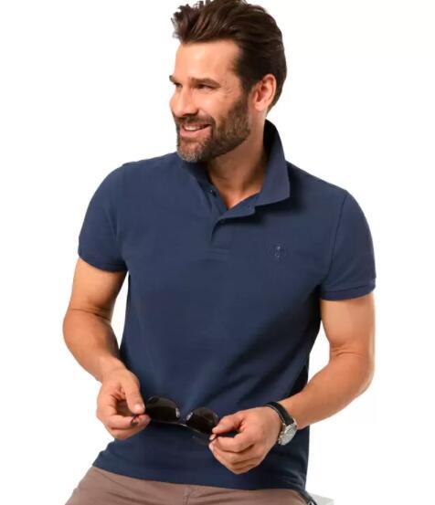 2x Chiemsee Polo-Shirt aus Baumwoll-Piqué in 6 Farben + gratis Uhr