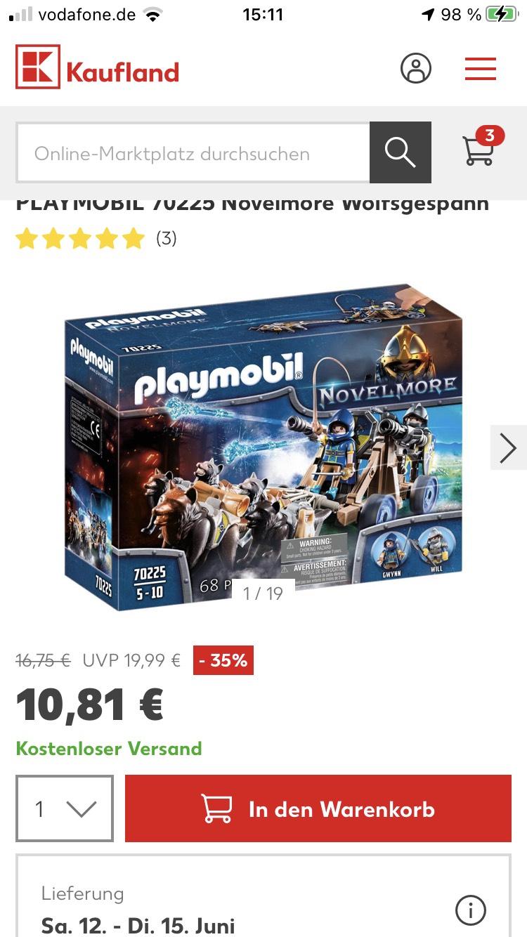 PLAYMOBIL 70225 Novelmore Wolfsgespann
