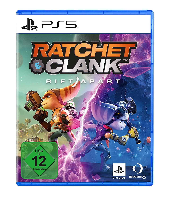 Ratchet & Clank: Rift Apart & Deathloop USK PS5 für effektiv 54,97€