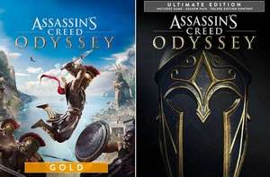 [PC] Assassin's Creed Odyssey Gold Edition - 11€ / Ultimate Edition - 14,75€ (Shopping optimization) - Ubisoft Store