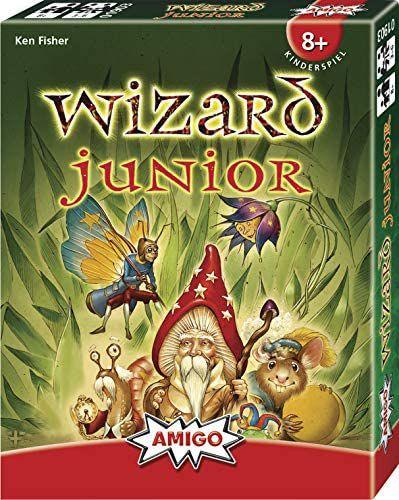 Amigo Spiele - Wizard Junior, Kinder-Kartenspiel ab 8 Jahren [Amazon Prime]