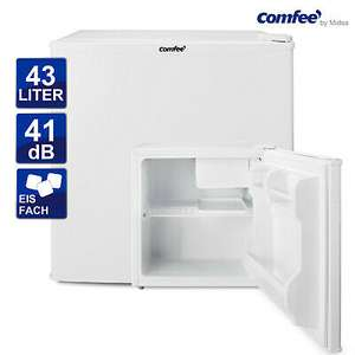 Mini Kühlschrank comfee RCD76WH1 Kühlgerät Box mit Eisfach