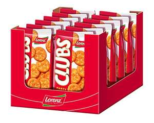 Amazon Sparabo: 12Beutel(je75Cent)Clubs Party Cracker von Lorenz, der Beutel hat 200 Gramm Inhalt, gesamt werden damit 2,4 Kilo geliefert