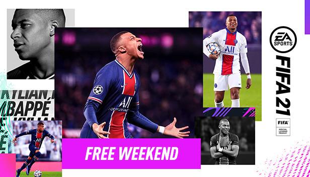 FIFA 21 Free Weekend auf Steam
