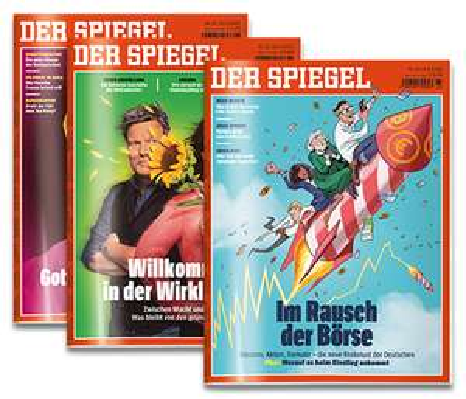 """7x """"Der Spiegel"""" (Print) für 7 EUR (Kündigung notwendig)"""