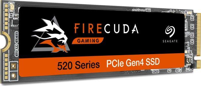 Seagate Firecuda 520 1TB M.2 PCIe 4.0 SSD (R5000/W4400, 3D TLC, 1GB DRAM, 5 Jahre Garantie)