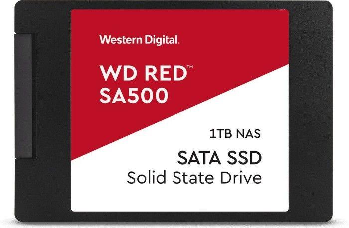 """WD Red SA500 1TB 2,5"""" SSD (NAS optimiert, 3D TLC, DRAM, 5 Jahre Garantie)"""