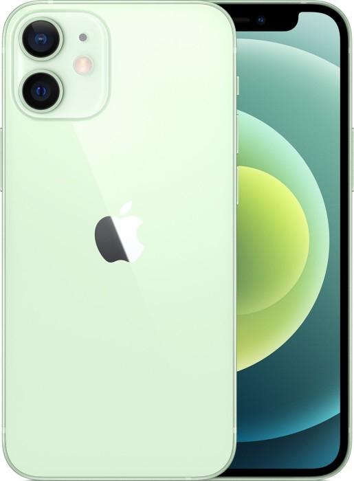 "[amazon pay] Apple iPhone 12 Mini - 5.4"" FHD+ Dual-SIM Smartphone (4/64GB, 802.11ax, NFC, 2227mAh) in grün"