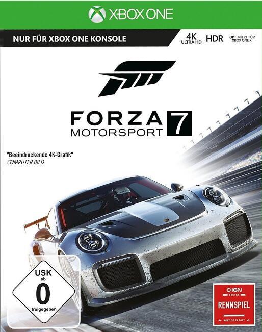 Forza Motorsport 7 (Xbox One) für 11,99€ (Amazon Prime) - Download Version (PC & Xbox One) für 9,99€.