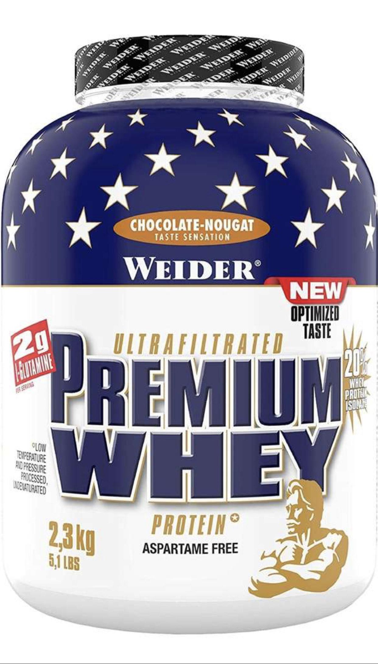 [Amazon Sparabo/ Prime] Weider Premium Protein Pulver 2,3 kg