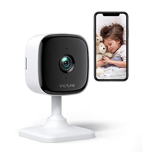 Babyphone mit Kamera 1080P; 2.4G WiFi; Bewegungs- / Tonerkennung; Zwei-Wege-Audio; Nachtsicht ; Alexa / Google kompatibel