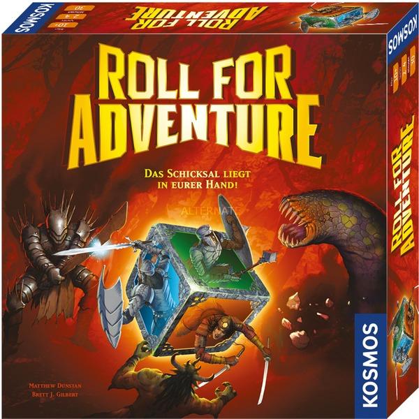 KOSMOS Brettspiel Roll for Adventure (Für 2-4 Spieler, Ab 10 Jahren) [ALTERNATE]