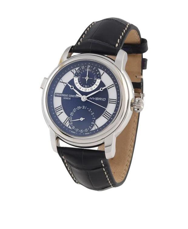 Frederique Constant Smartwatch Hybrid Silber