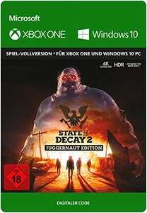 State of Decay 2 Juggernaut Edition   Xbox One/Windows 10 PC - Download Code