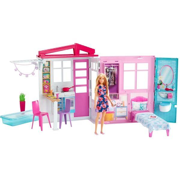 MattelBarbie Ferienhaus mit Möbeln und Puppe [Alternate]