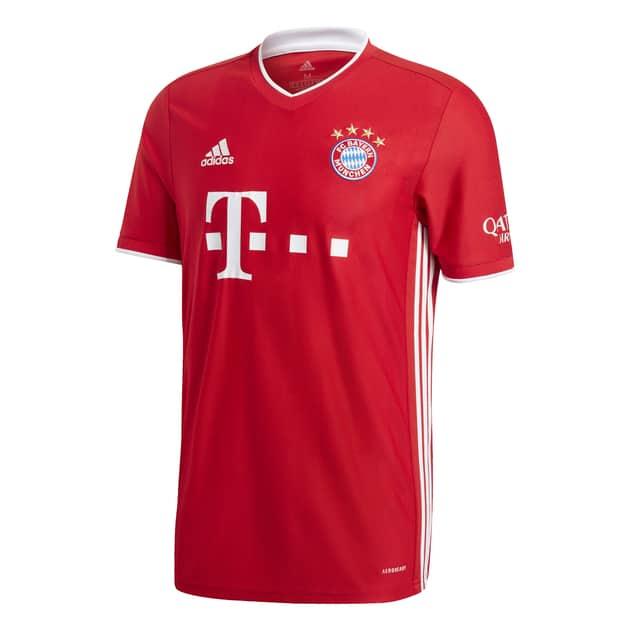 Adidas FC Bayern München Kinder Heimtrikot (Gr. 152 & 164) und Auswärtstrikot (Gr. 128 - 164) Saison 2020 / 2021