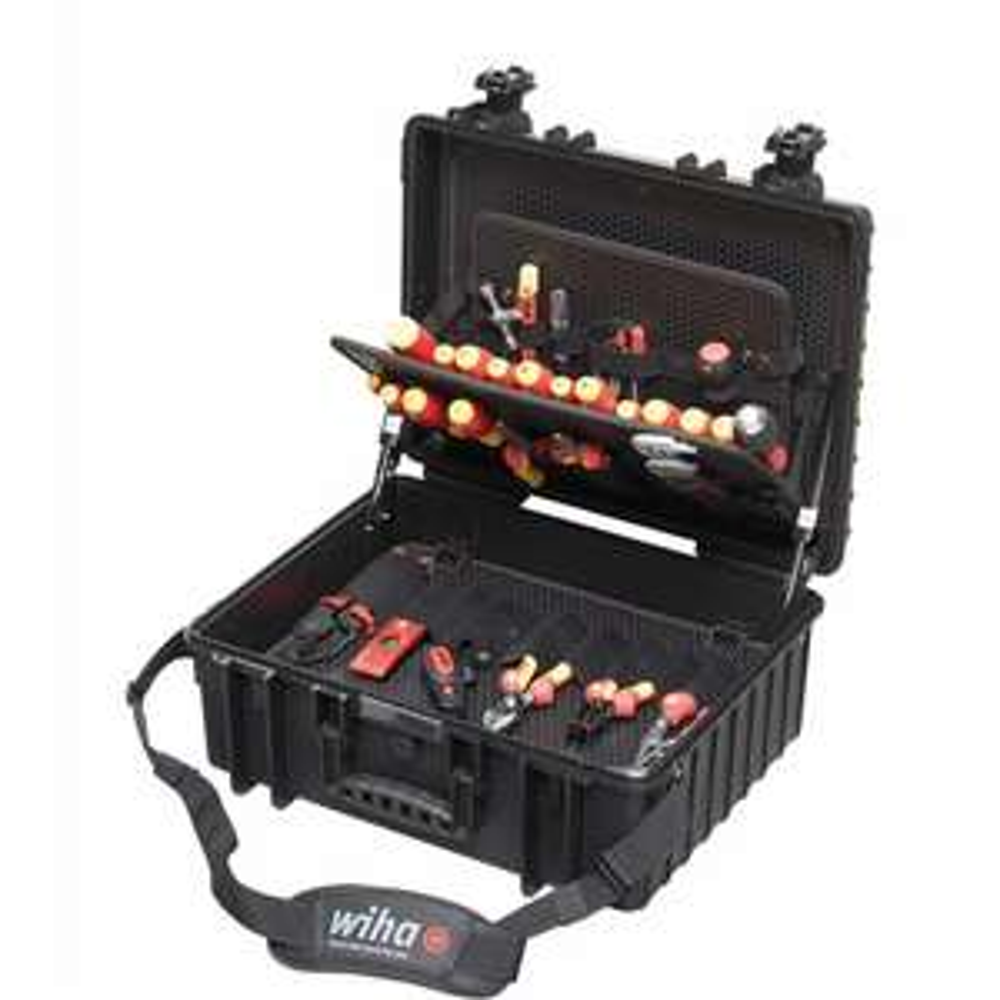 WIHA Werkzeug Set Elektriker Competence XL 80-tlg.