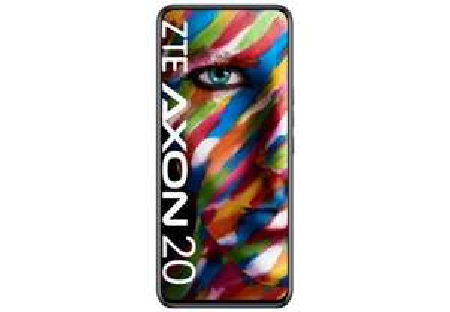 ZTE Axon 20 schwarz Smartphone (6,92 Zoll, 128 GB, 64 MP + 8 MP + 2 MP + 2 MP, Quad-Kamera, 4.220-mAh, Octa-Core,