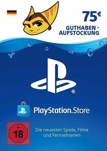 75€ PlayStation Store Guthaben für 57,99€ (PSN Deutschland, Faktor 0.77)