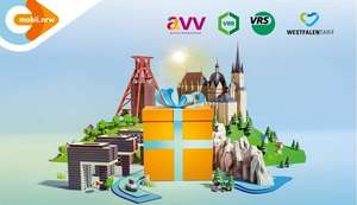Für ABO Kunden Freie Fahrt in ganz NRW in den Sommerferien