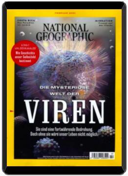 National Geographic Abo (12 ePaper Ausgaben) für 49,96 € mit 50 € BestChoice-Gutschein inkl. Amazon (Kein Werber nötig)