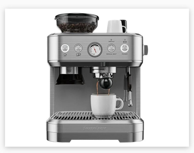 Espressomaschine SILVERCREST Siebträgermaschine