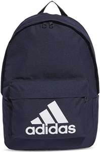 Adidas Classic Big Logo Backpack in legend ink / white