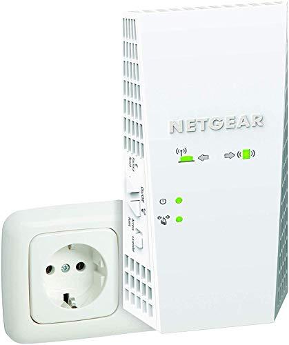 [Amazon.fr] NETGEAR EX6250 Mesh WLAN Repeater (AC1750 Dualband WLAN Verstärker, WiFi Extender 2 bis 3 Räume & 25 Geräte, bis 1750 MBit/s)