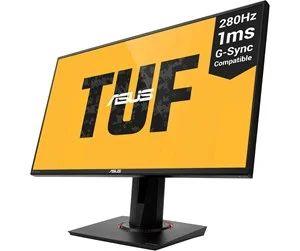 """ASUS 25"""" Monitor TUF Gaming VG259QM 280Hz 1 ms - Schwarz - 1 ms NVIDIA G-Sync, LED-Monitor(24.5""""),Full HD, IPS,1000:1, 1 ms, 2xHDMI,"""