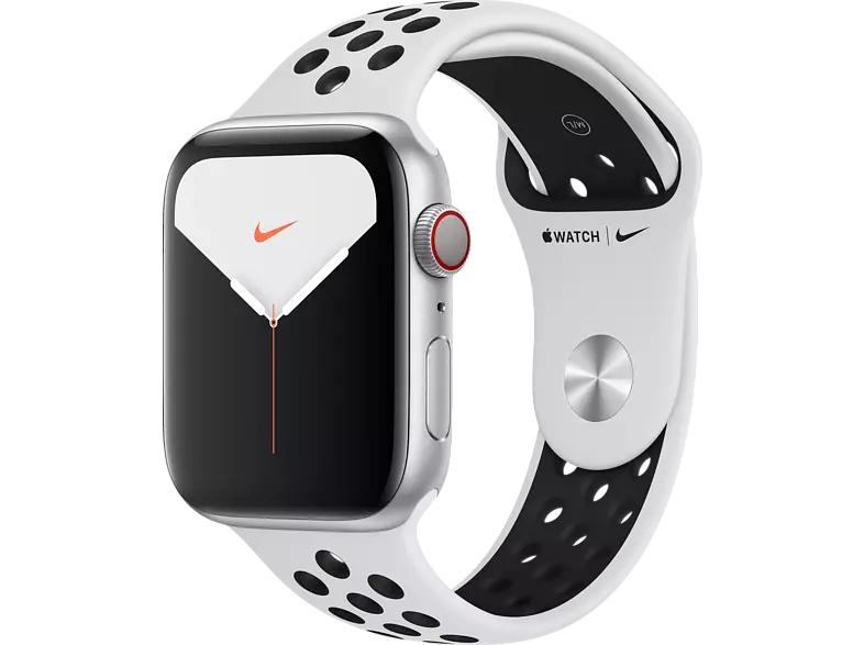APPLE Watch Nike Series 5 (GPS + Cellular) 44mm weiß