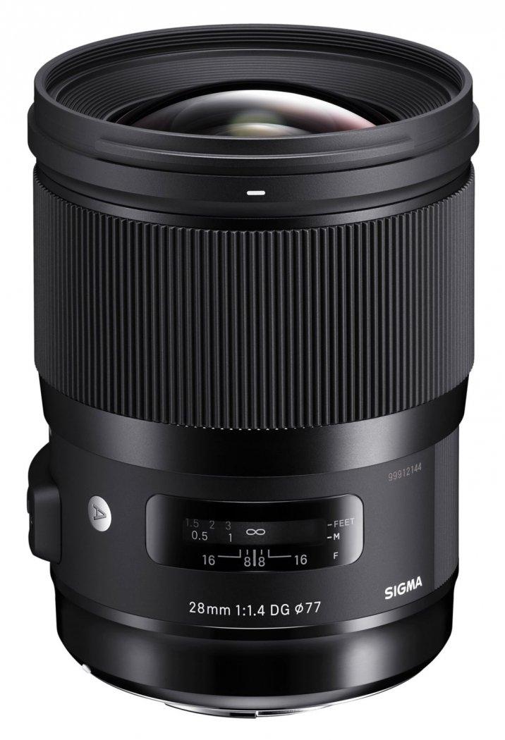 Sigma 28mm F1.4 DG HSM ART Objektiv für L-Mount // Sony E-Mount // Canon EF-Mount // Nikon F-Mount