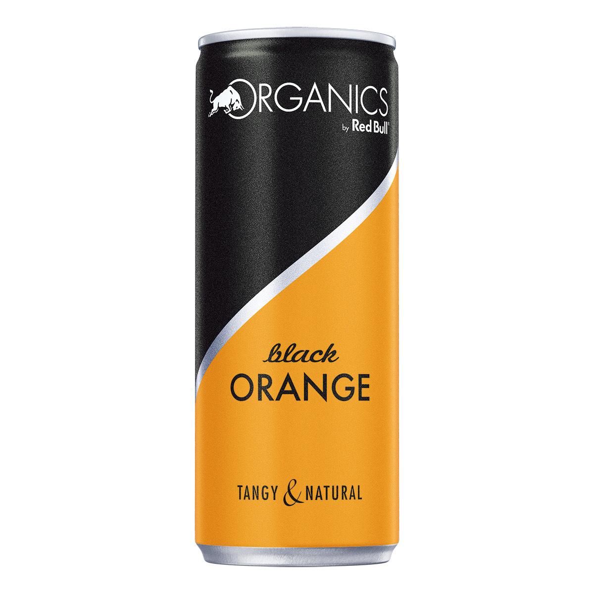 12xRed Bull Organics Black Orange *NEU* Prime