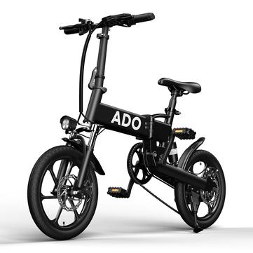 "ADO A16 16"" Faltrad, Elektrofahrrad 250W 36V 7.8Ah 16 inch Electric Bike 25km/h Max Speed 70Km Mileage 120Kg Max"