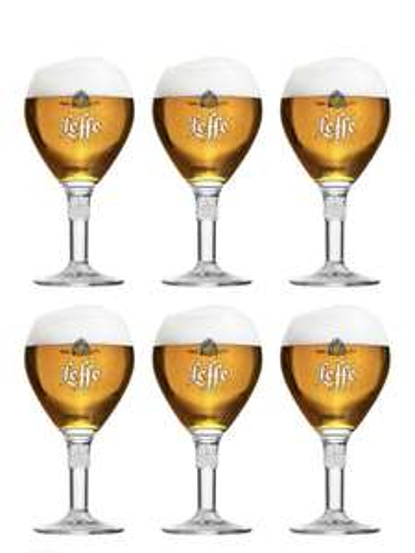 Leffe Biergläser 330 ml - 6 Stück