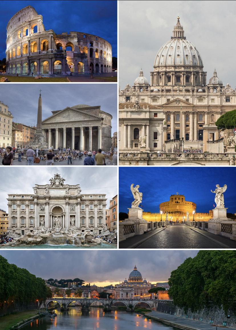5 Tage Rom im Juli p.P. 128,40€ mit Flügen, Transfer ins Zentrum und zentrales Zimmer