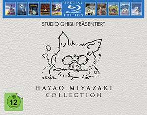 Hayao Miyazaki Collection - Studio Ghibli (Blu-Ray, Special Edition)
