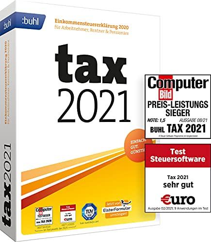 [Amazon Prime] Tax 2021 (für Steuerjahr 2020 | Standard Verpackung)