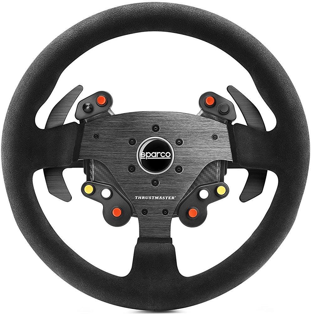 Thrustmaster Rally Wheel Add-On Sparco R383 Mod - Lenkrad z.B. für T300 RS - 149,95€ mit GS [computeruniverse.de]