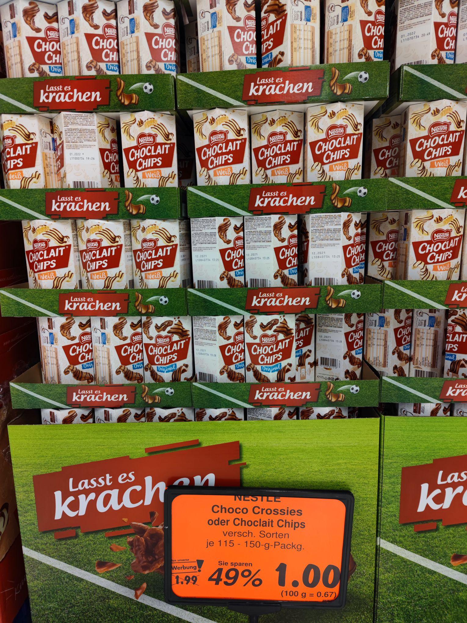 [Lokal/Bundesweit] Chocolait Chips beim Kaufland