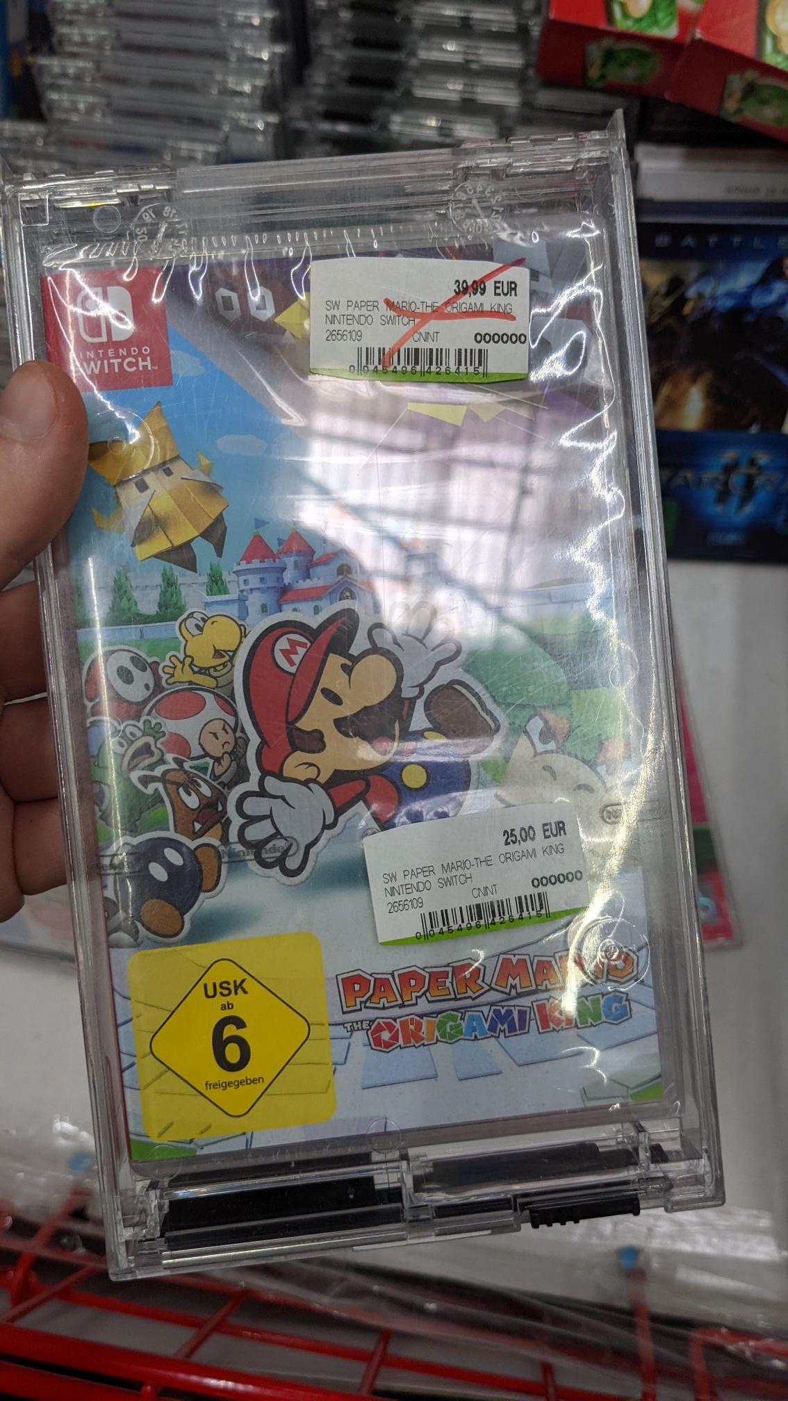 [Lokal] Paper Mario: The Origami King Media Markt Lahr/Schwarzwald
