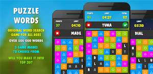(Android) Puzzle Words PRO - Google Play