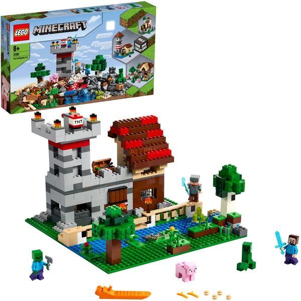 LEGO21161 Minecraft Die Crafting-Box 3.0, Konstruktionsspielzeug [Alternate]