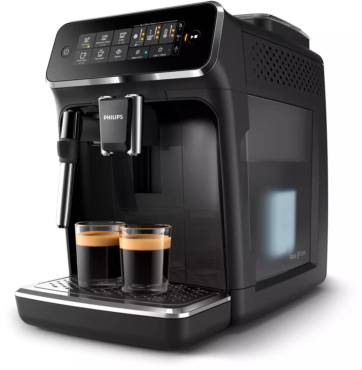 Philips EP3221/40 3200 Kaffeevollautomat (1,8l Wassertank, 15 bar, 4 Programme, mit Milchaufschäumdüse)