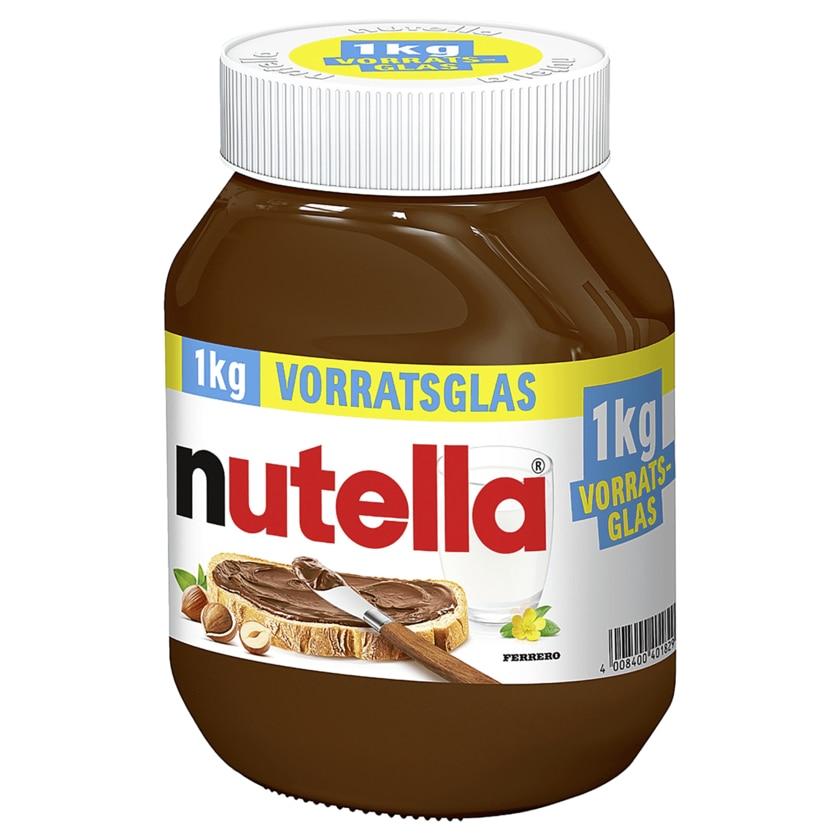 Nutella 1Kg (1000 Gramm!) Glas [Netto MD]