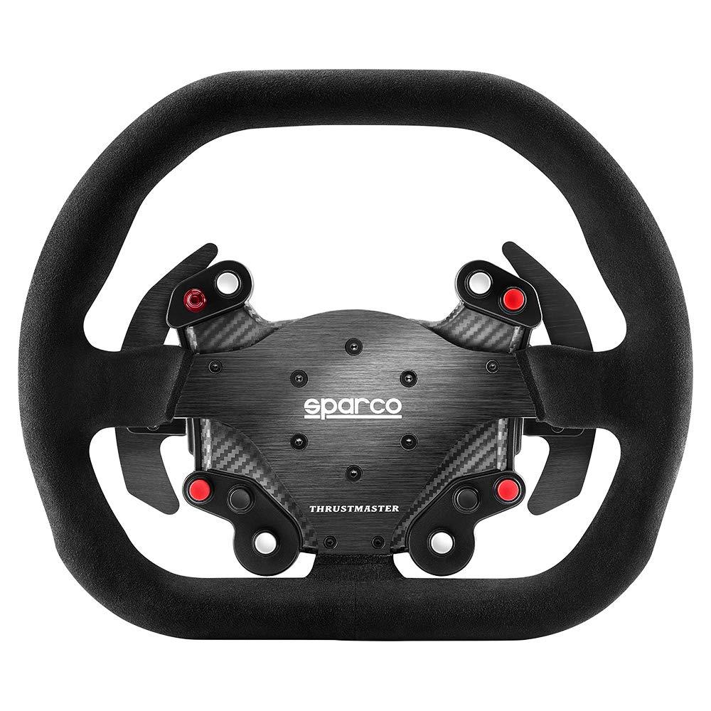 Thrustmaster Competition Wheel Add-On Sparco P310 Mod - Lenkrad mit Veloursleder - 159,95 mit GS [computeruniverse.de]