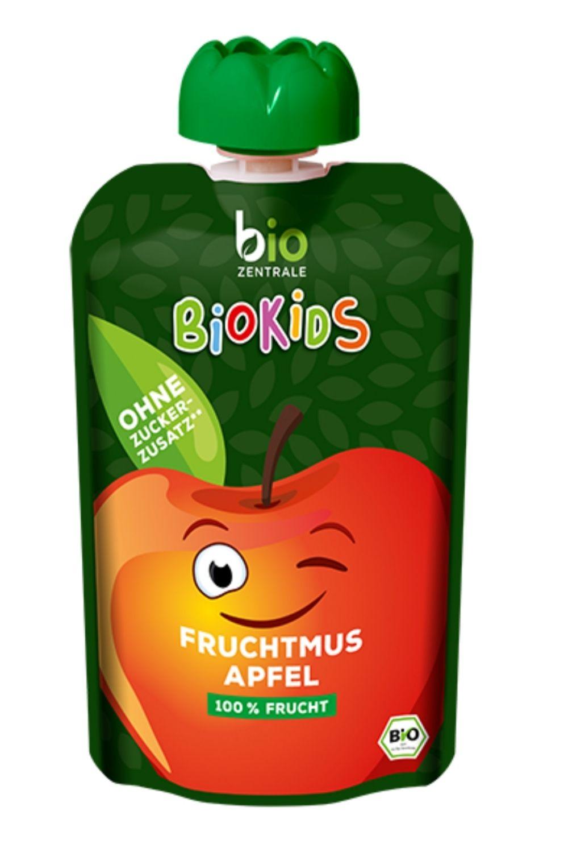BioKids Fruchtmus Apfel - Bestpreis bei Abnahme von 32 Stück