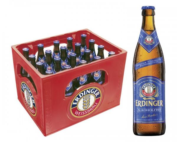 (lokal Netto Markendiscount Südostbayern) 1 Kasten Erdinger ALKOHOLFREI mit Netto Gutscheinheft nur 7,99 Euro, nur noch heute!
