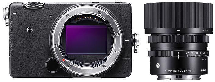 Sigma FP Systemkamera inkl. 45mm F2,8 DG DN Objektiv