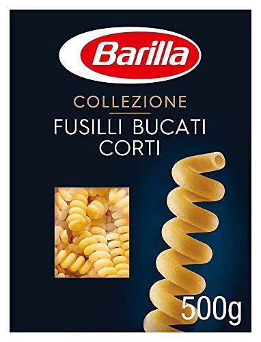 Barilla Pasta La Collezione Fusilli Bucati Corti, 12er Pack (12 x 500 g)